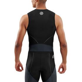 Skins DNAmic Triathlon SL Top Herrer, black/carbon